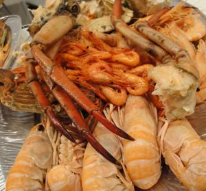 El marisco y sus valores nutricionales