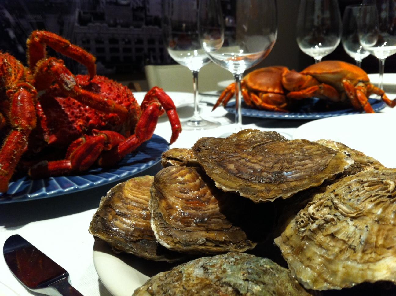 ¡La Mariscada gallega que nos vamos a comer!